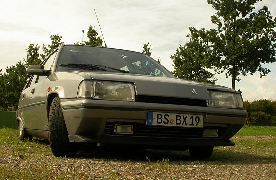 You can photograph a BX in whatever way you wish, it will never look menacing.